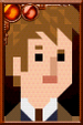The Tenth Doctor + Pixelated Coat Portrait