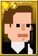 Jack Harkness Pixelated Guns Portrait