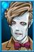 11th Doctor Flesh Clone head