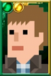Rory Williams Pixelated Vest Portrait