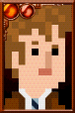 The Tenth Doctor + Pixelated Suit Portrait