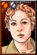 River Song Camouflage Portrait