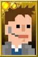 Jack Harkness Pixelated Coat Portrait