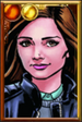 Clara Oswald + Retro Comic Portrait