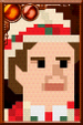 The Seventh Doctor + Pixelated Portrait