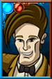 Eleventh Doctor Cartoony Portrait