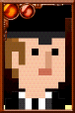 The Tenth Doctor + Pixelated Teacher Portrait