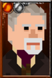 The War Doctor Pixelated Right Portrait