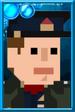 Fan Jack Pixelated Captain Portrait