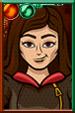 Clara Oswald Cartoony Portrait