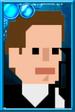 Fan Jack Pixelated Guns Portrait