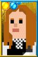 Amy Pond + Pixelated Kissogram Portrait