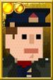 Jack Harkness Pixelated Captain Portrait