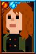 Cinder Pixelated Portrait