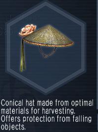 FloweredHarvesterHat