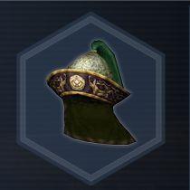 Steel helm con