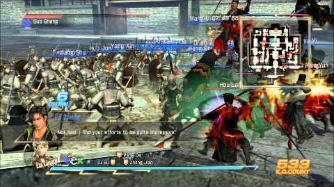 Dynasty Warrior 8 Xtreme Legend Ambition Mode Final Battle against Fake Emperor