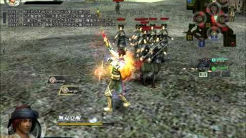 Dynasty Warrior Online Z Guan Suo Moveset