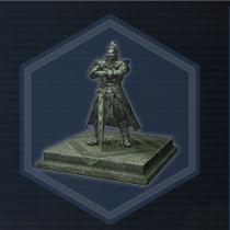 Cao cao statue