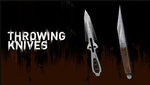 Throwing knife types image