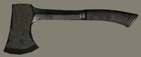 Black Iron Hatchet