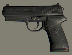 German 9mm Pistol