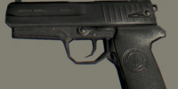 German 9mm Pistol