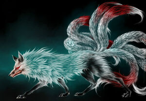 Nine Tailed Fox Box Weapon Animal
