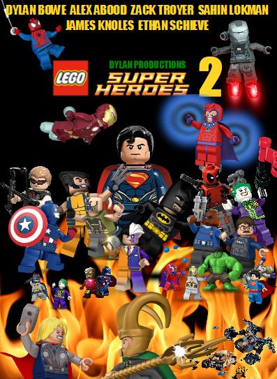 Lego Superheroes 2 poster
