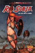 Red Sonja 50 Cover A