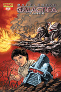 Battlestar Galactica Zarek Vol 1 1