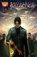 Battlestar Galactica Zarek Vol 1 1-B