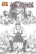 Battlestar Galactica Zarek Vol 1 3-C