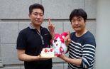 Toukiden-bdaycake-producers