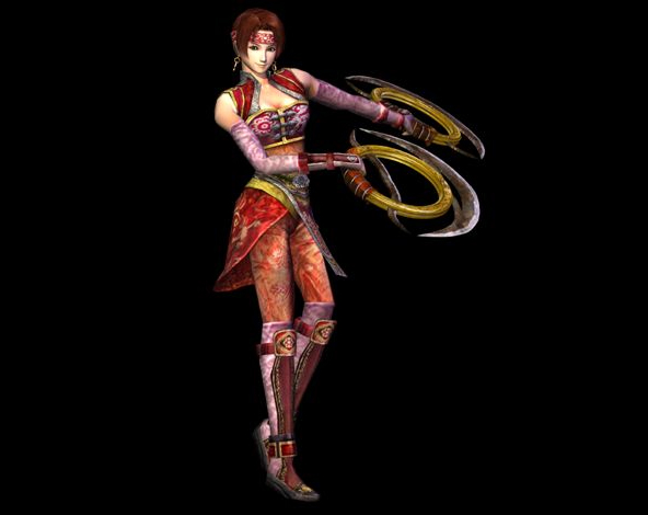 File:Dynasty Warriors 3 Render - Sun Shang Xiang.jpg