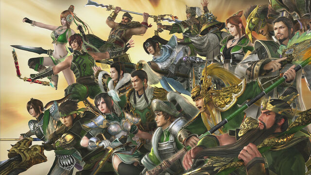 File:Dynasty Warriors 7 DLC - Shu Wallpaper.jpg