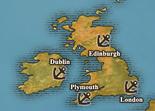 British Isles - True Port Map (UW5)