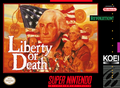 Liberty or Death SNES Cover