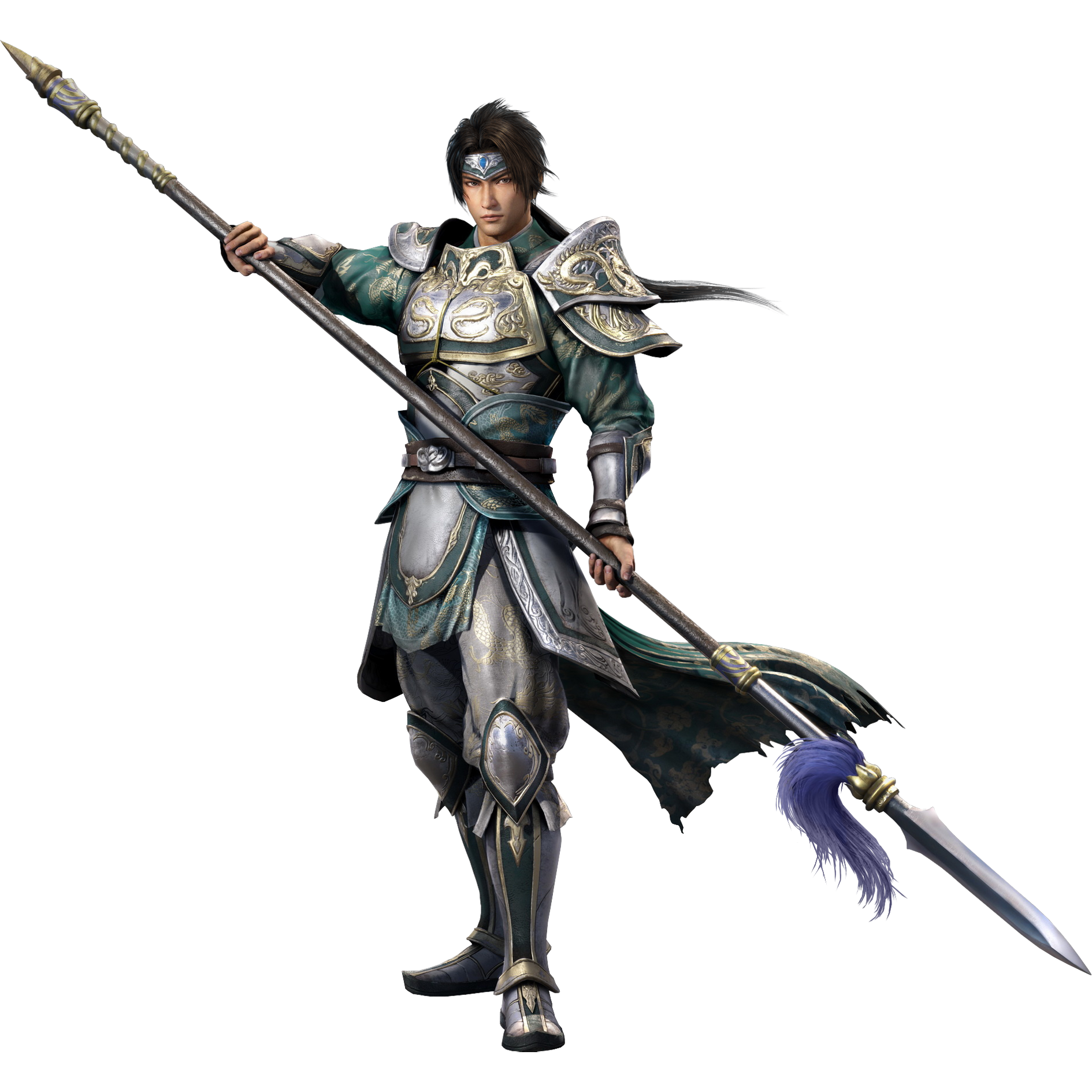 Warriors Orochi 3 9 Tails: Image - Zhao Yun (DW9).png