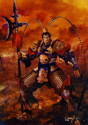 File:Dynasty Warriors 4 Artwork - Lu Bu.jpg