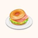 File:Bagel Sandwich - Ham Cheese (TMR).png