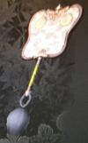 Silver Lacquered War Fan (Kessen III)