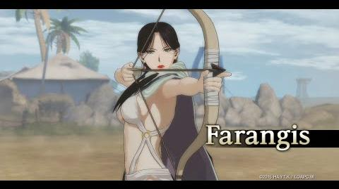 Arslan The Warriors of Legend Farangis Character Highlight