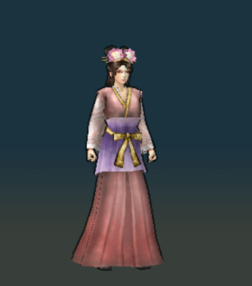 File:Diao Chan Render (ROTK11).png