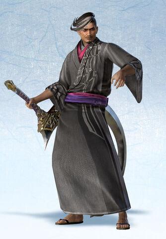 File:Hisahide Matsunaga Yukata Costume (SW4E DLC).jpg