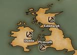 British Isles - Port Map 2 (UW5)