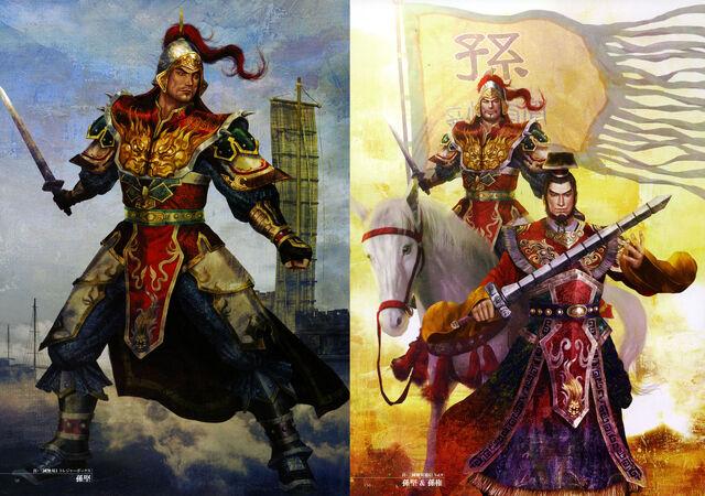 File:Dynasty Warriors 4 Artwork - Sun Jian.jpg