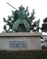 Benkei-statue