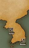 Korean Peninsula - Port Map 1 (UW5)