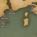 West Mediterranean Sea - Port Map 2 (UW5)